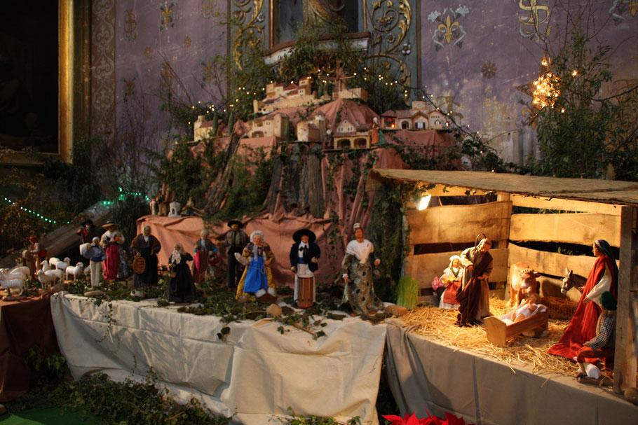 Bild: Santons Weihnachtskrippe in der Provence