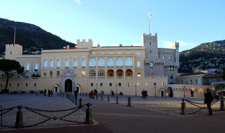 Bild: Der Princenpalast. Palais Princier
