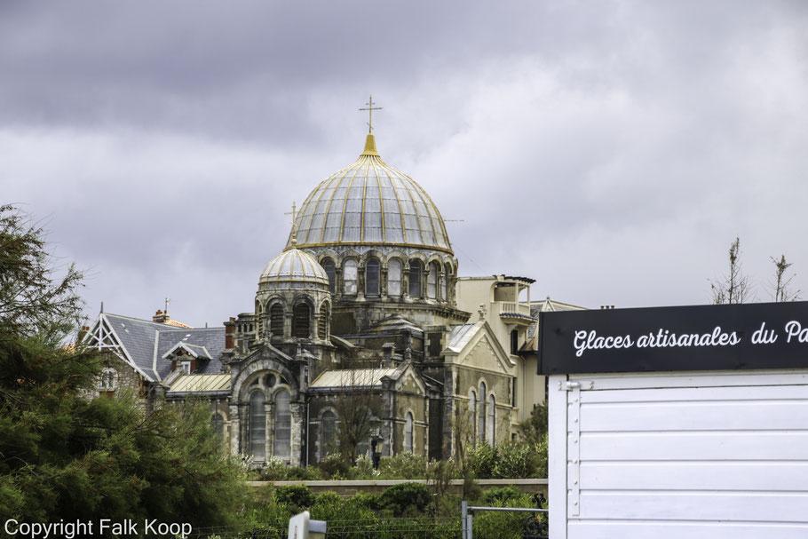 Bild: Église Alexandre Nevski in Biarritz