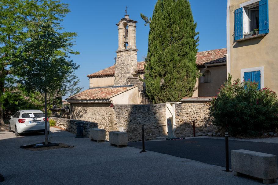 Bild: La chapelle des Pénitents Blances in Mazan, Vaucluse, Provence