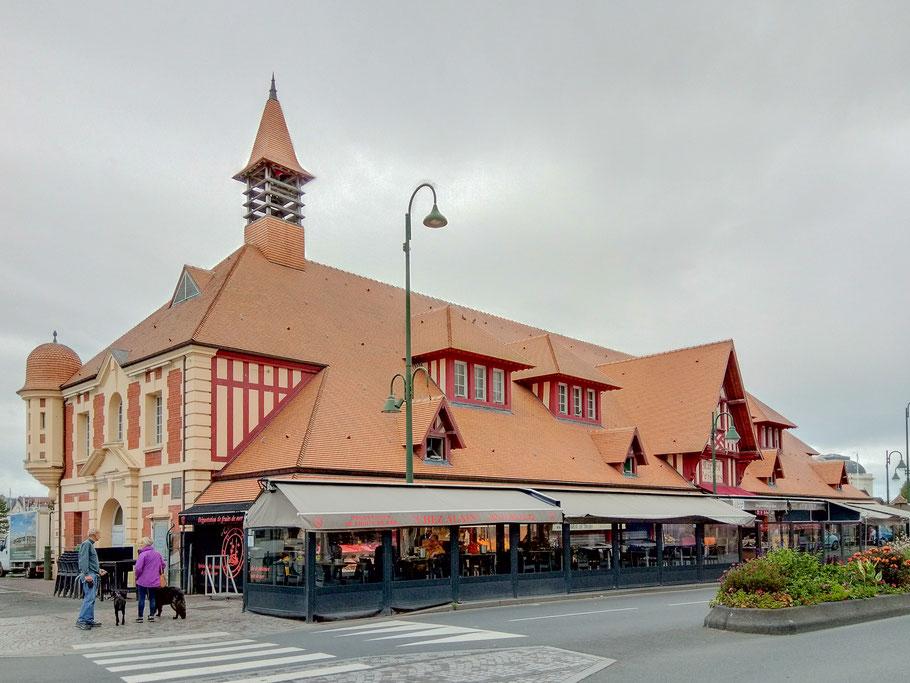 Bild: Fischhalle von 1936 in Trouville-sur-mer
