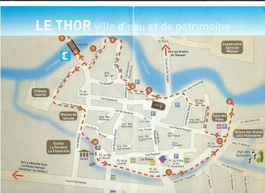 Bild: Plan von Le Thor