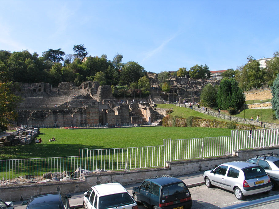Bild: Théatres romains in Lyon