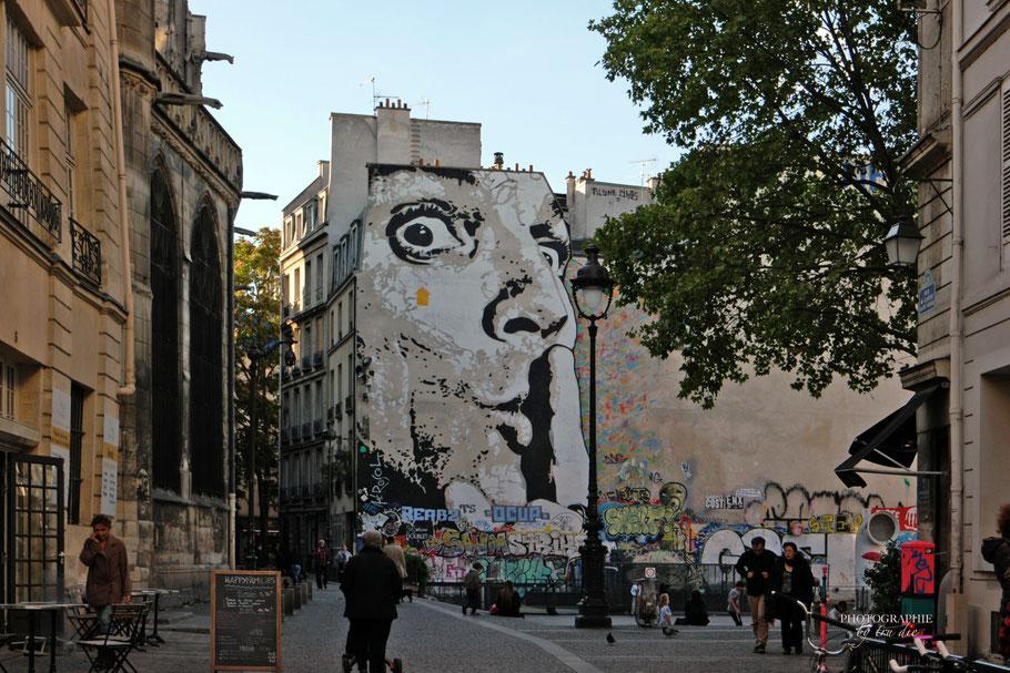 Bild: Fontaine Igor Stravinsky Paris