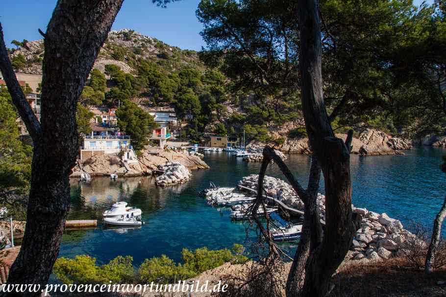 Bild: Wanderung an der Côte Bleue und Blick auf Petit Méjean