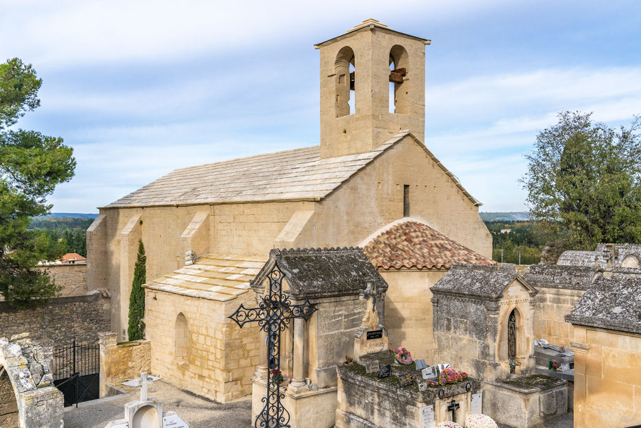 Bild: Boulbon im Bouches du Rhône, hier Chapelle Saint-Marcellin