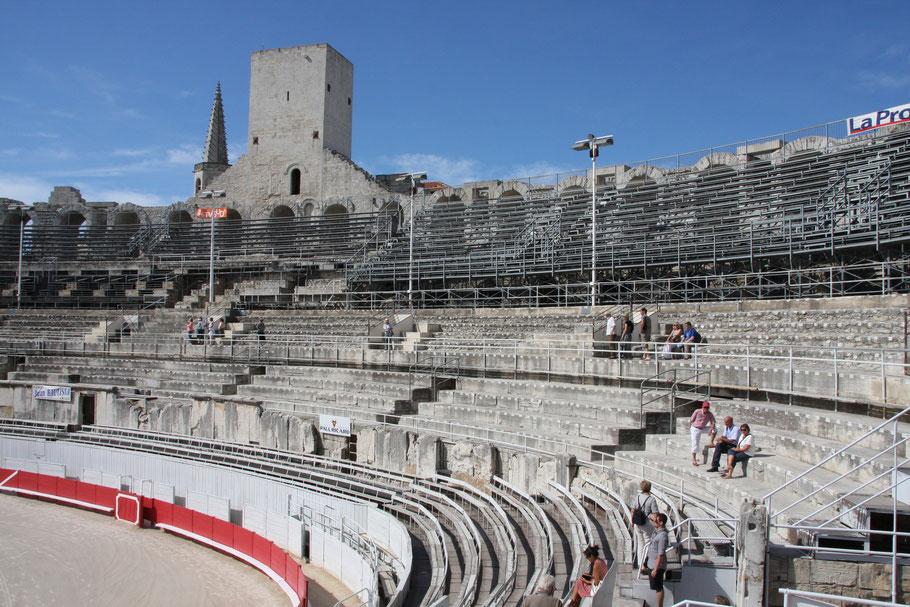 Bild: Amphitheater Arles