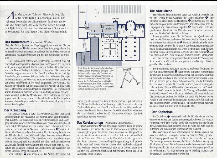Bild: Beschreibung der Abbaye Notre-Dame de Sénanque