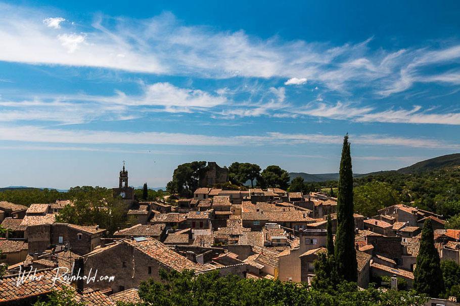 Bild: Blick über die Dächer von Cucuron