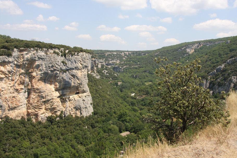 Bild: Aussicht von Fort de Buoux