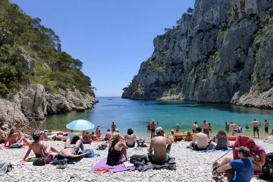 Baden am Meer hier in der Calanque d´en Vau