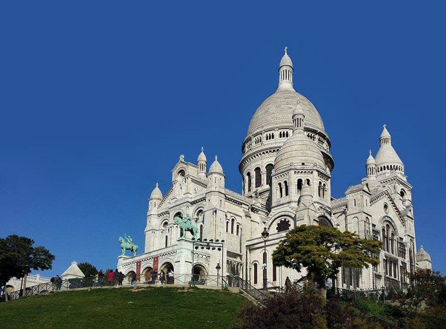 Bild: Basilique Sacré Coeur, Paris