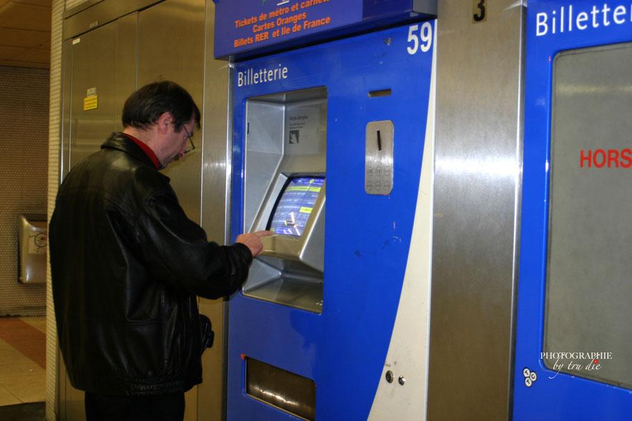 Bild: Metro Paris, Billetterie
