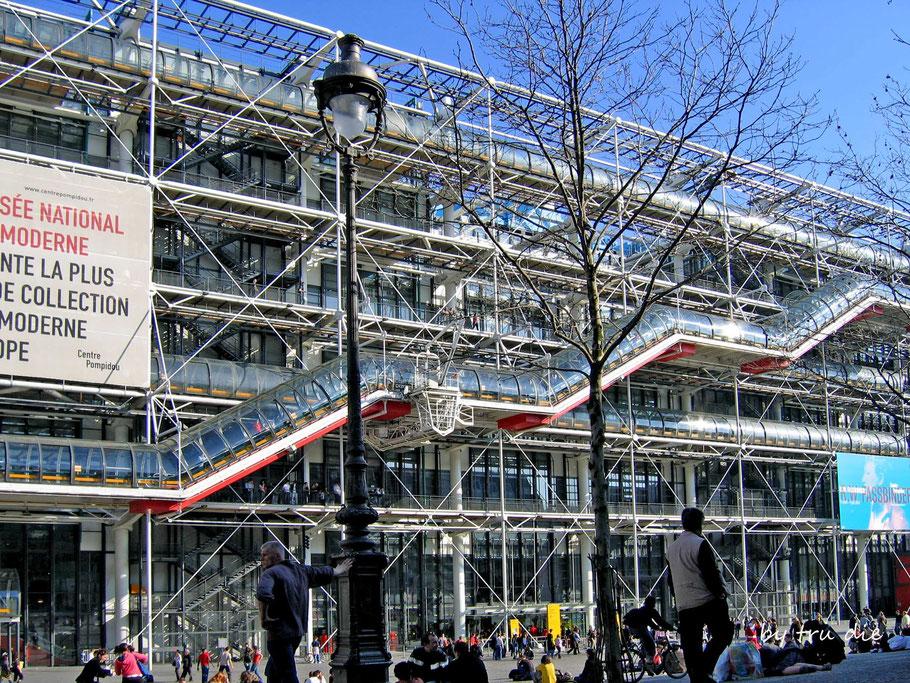 """Das Centre Pompidou ein """"Muss"""" für alle Kulturliebhaber in Paris"""