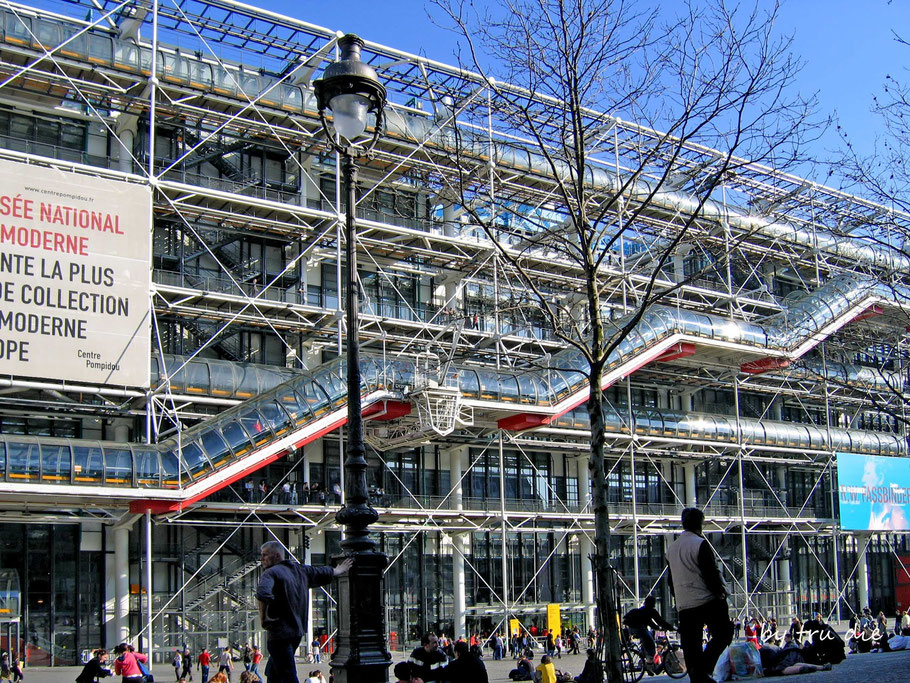 Bild: Centre Pompidou in Paris