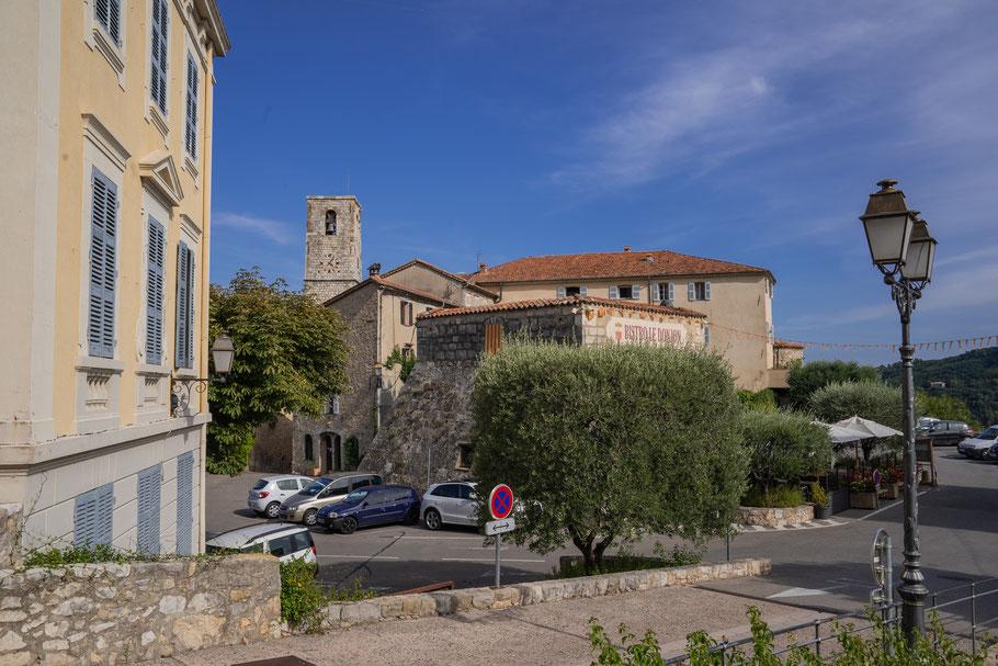 Bild: Blick auf Le Bar-sur-Loup im Département Alpes Maritimes, Frankreich