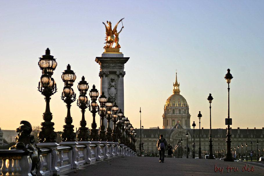 Bild: Pont Alexandre, Paris