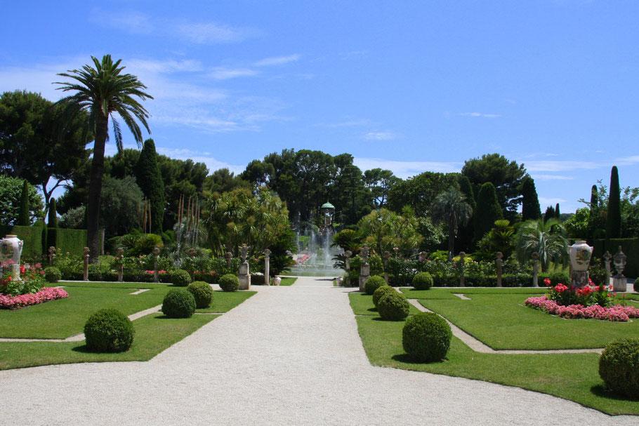 Bild: Villa Île-de-France, heute Musée Ephrussi de Rothschild