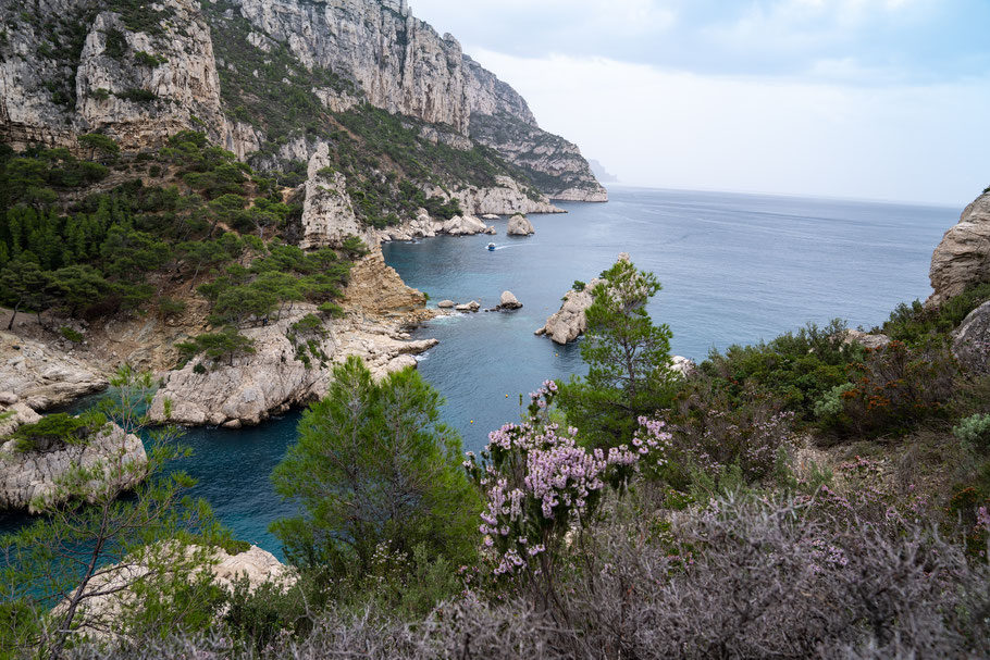 Herbstwanderung in den Calanques
