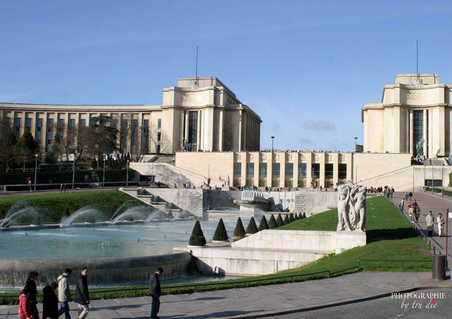 Bild: Trocadéro mit Palais de Chaillot in Paris