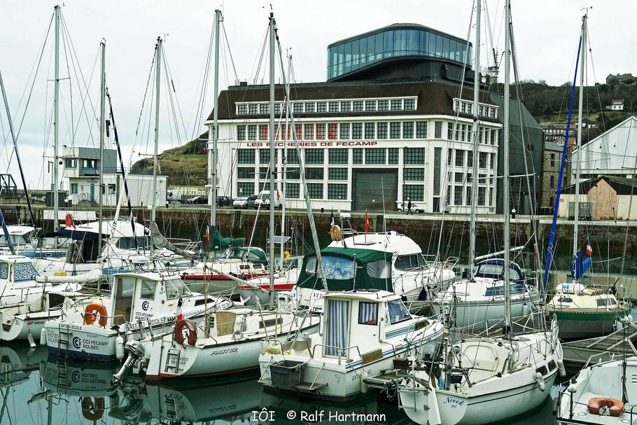 Bild: Fécamp am Hafen mit Fischereimuseum