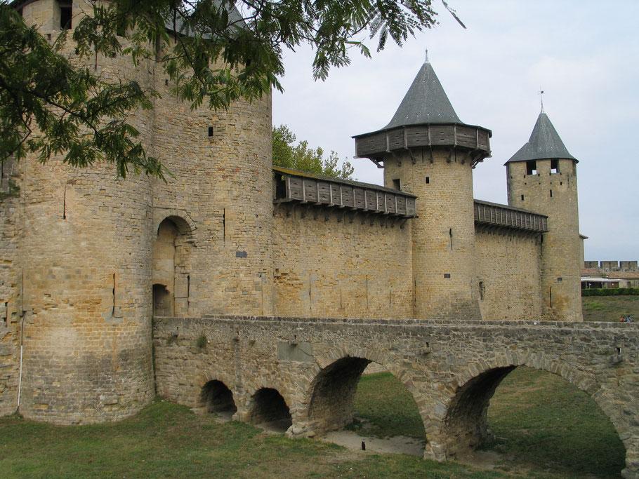 Bild: Stadtmauer von Carcasonne