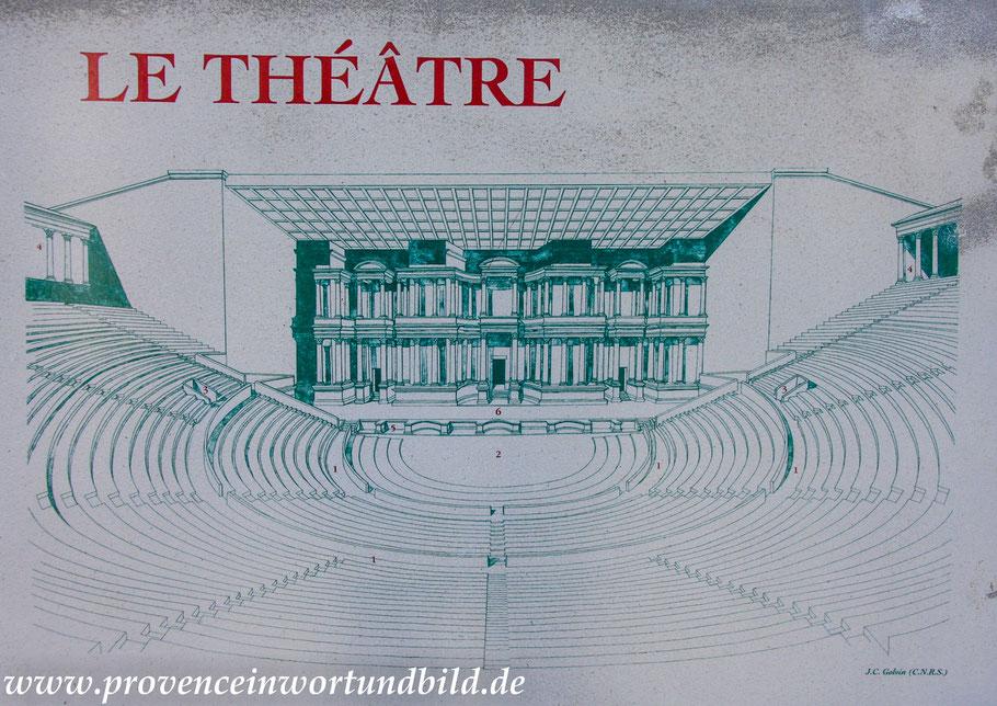 Bild Römisches Theater in Vaison-la-Romaine