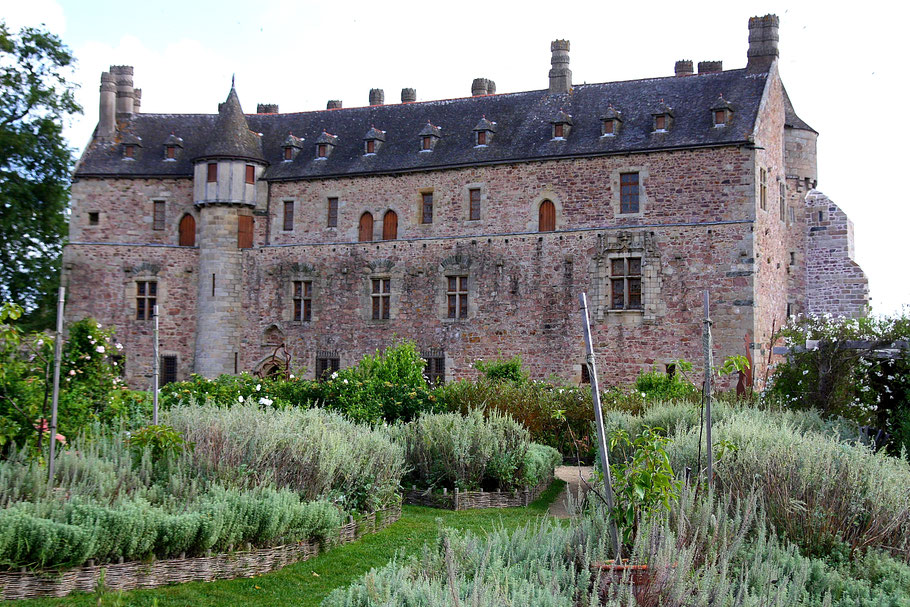 Bild: Château de la Roche Jagu in der Bretagne