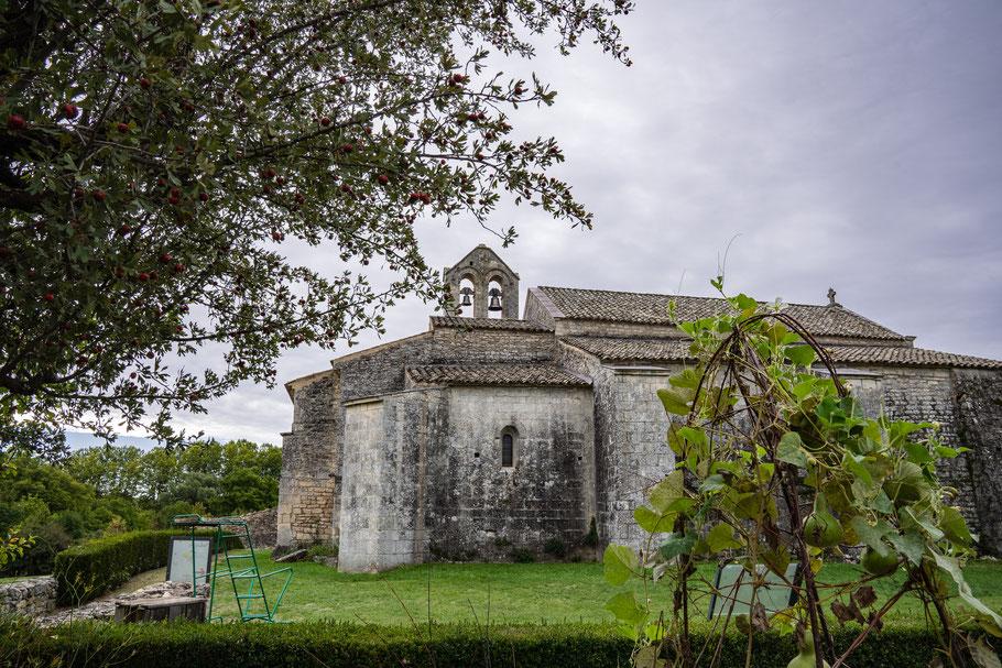 Bild: Mane mit Prieuré de Salagon im Département Alpes de Haut Provence