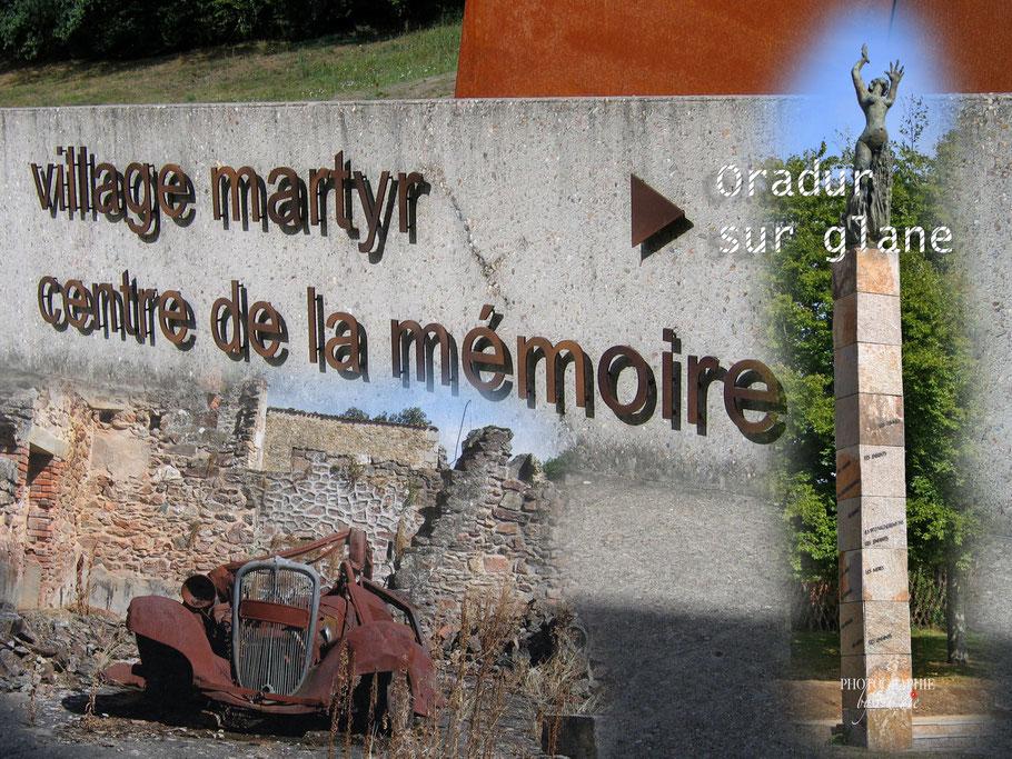 Bild: Gedenkstätte Oradour sur glane