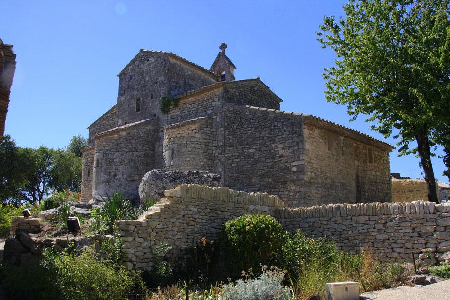 Bild: Église Nécropole Rupestre in St. Pantaléon