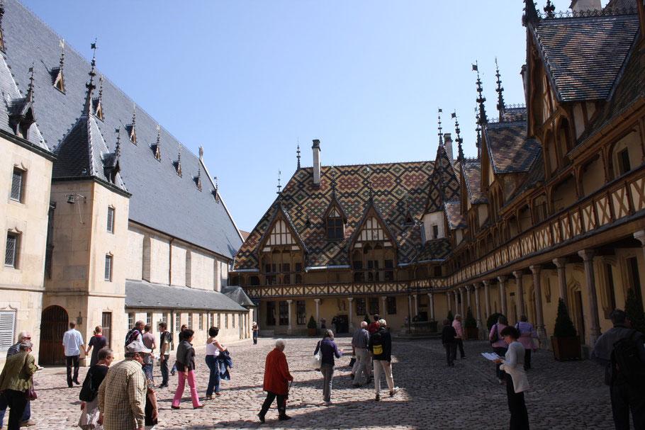 Bild: Hôtel Dieu in Beaune an der Côte d`Or