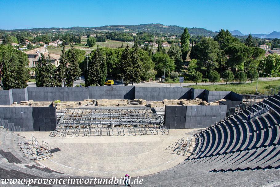 Bild: Quartier de Puymin, Theater, Vaison-la-Romaine