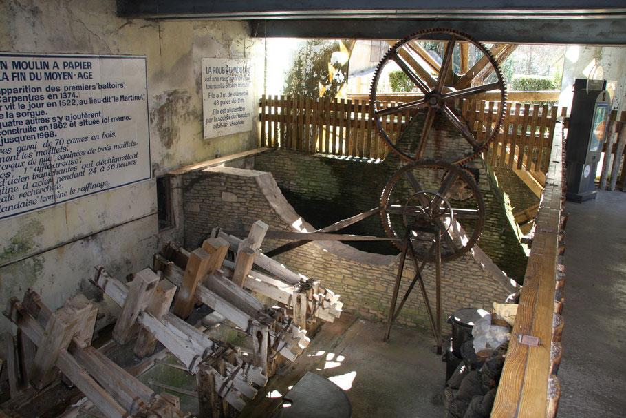 Bild: Papiermühle in Fontaine de Vaucluse