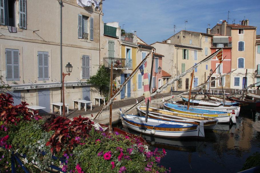 Bild: In der Altstadt von Martigues