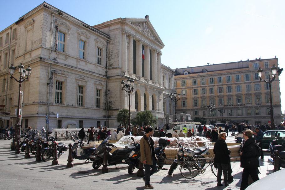 Bild: Palais de Justice in Nice