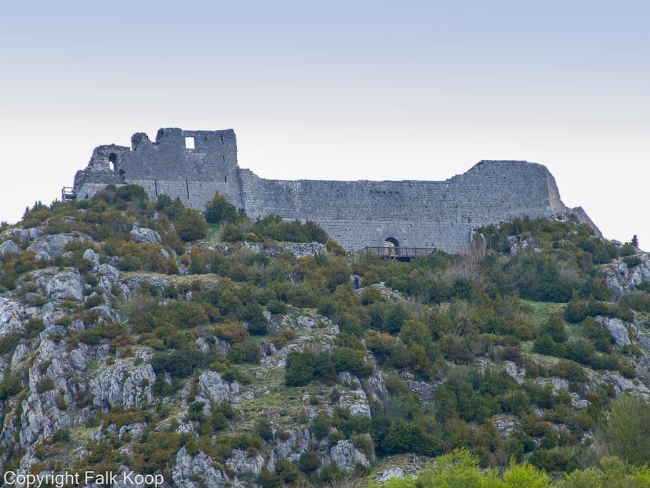 Bild: Burgruine Montségur