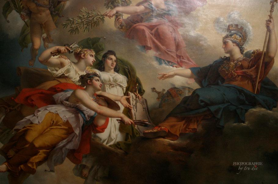 Bild: Louvre Paris, Deckengemälde