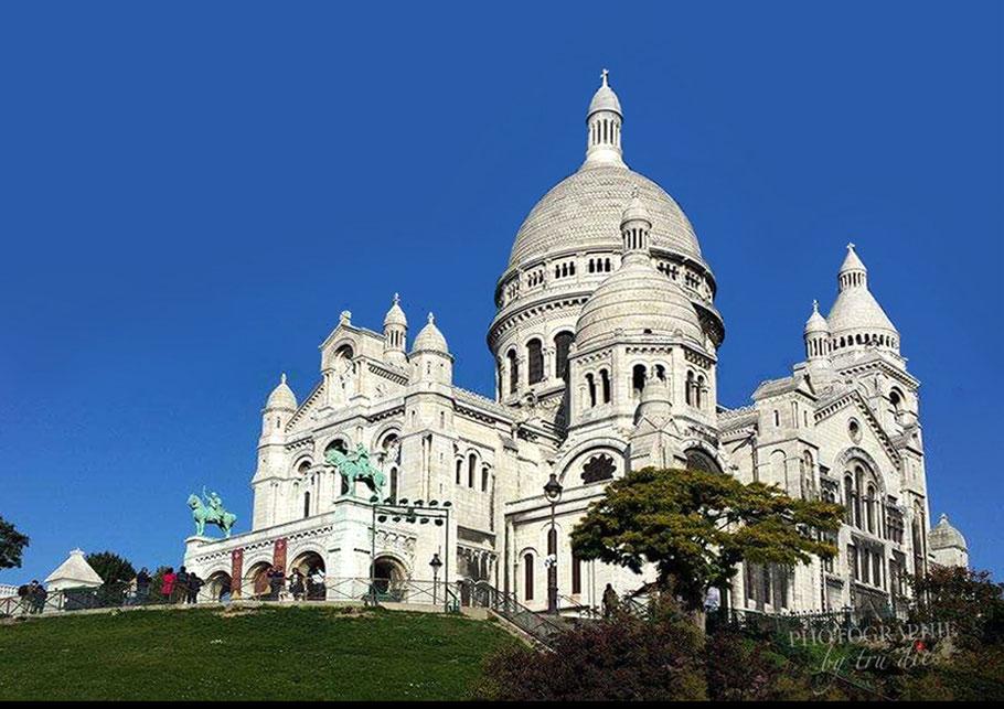 Bild: Basilika Sacré-Coeur de Montmartre