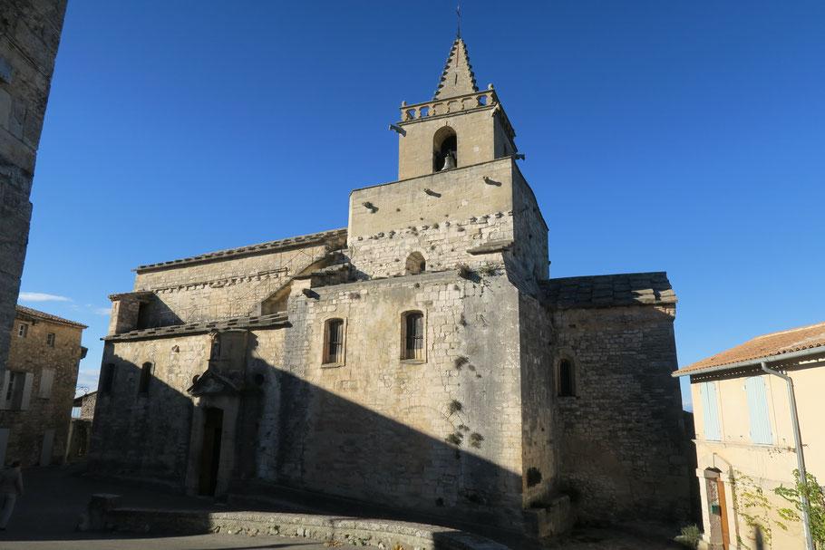Bild die Kirche von Venasque, L´eglise Notre Dame de Venasque
