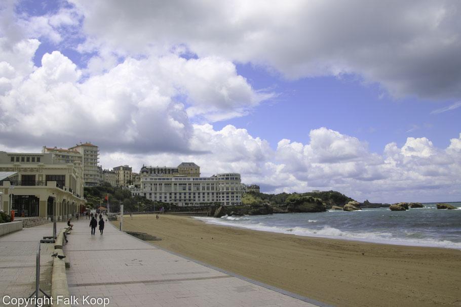 Bild: Grande Plage Biarritz
