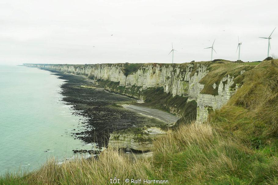 Bild: Blick von Cap Fécamp in Richtung Norden