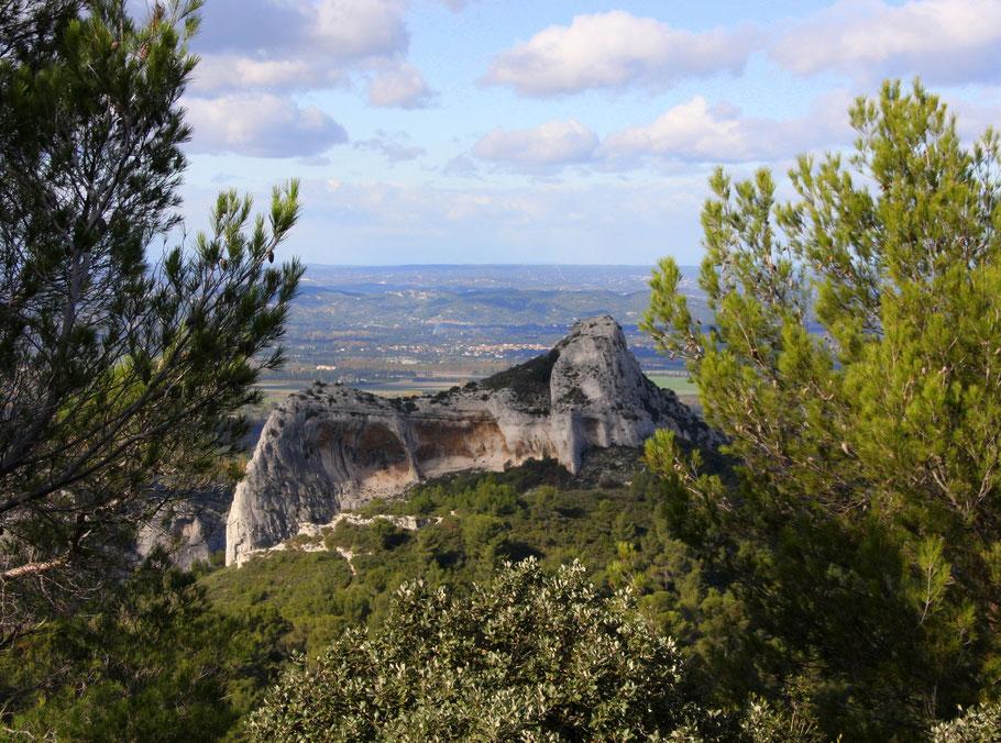 Bild: Wanderung bei Saint-Rémy-de-Provence