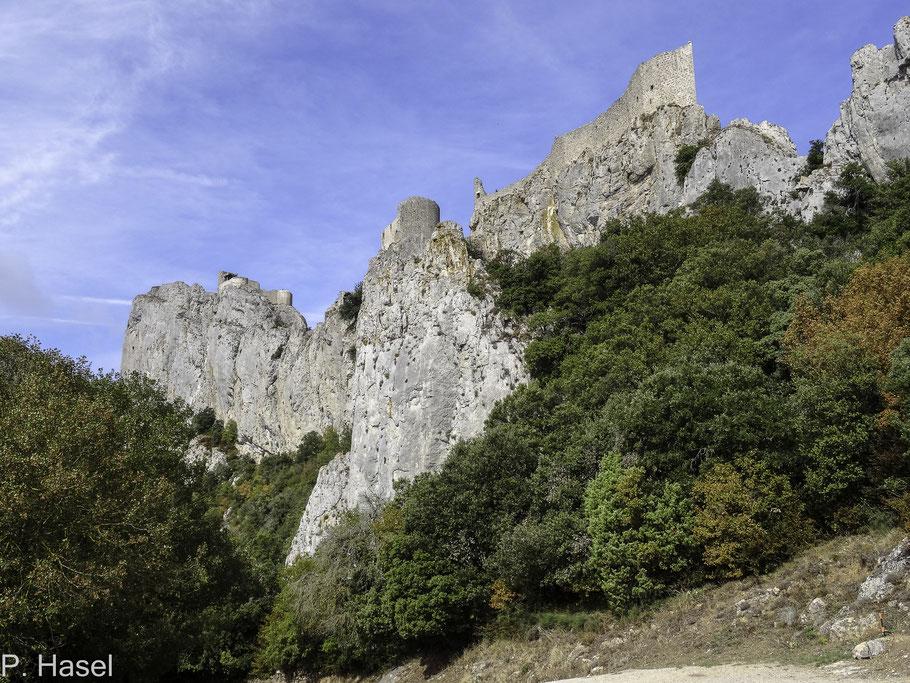 Bild: Château de Peyrepertuse - Katharerburg Peyrepertuse