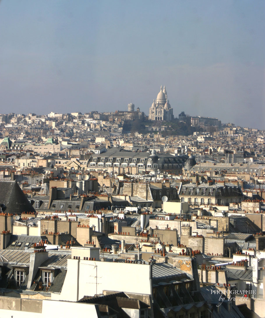Blick auf den  Montmartre