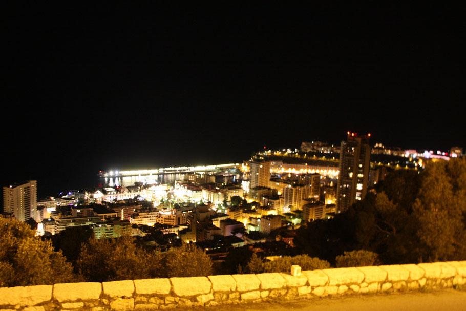 Bild: Monaco bei Nacht