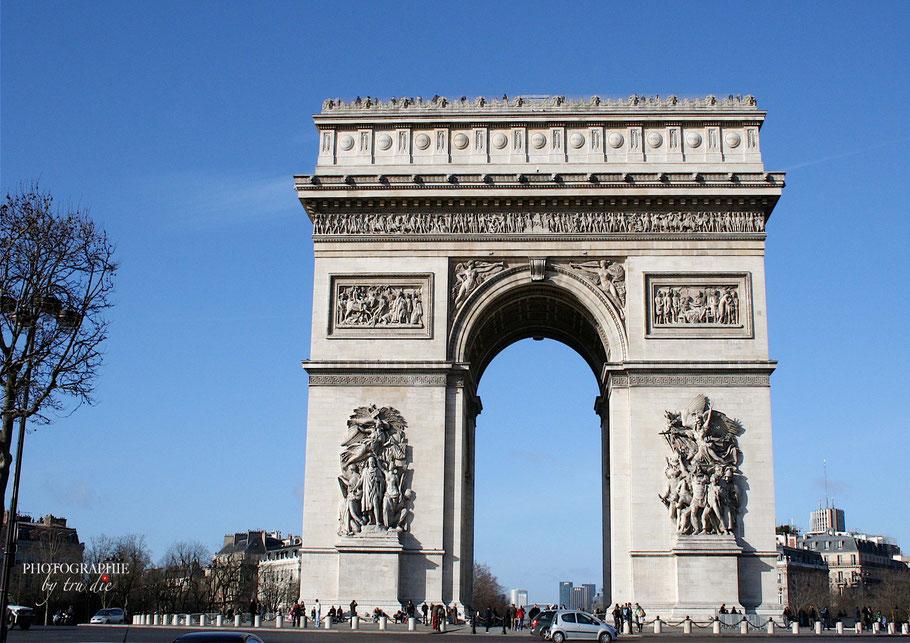 Bild: Arc de Triomphe Etoile, Paris