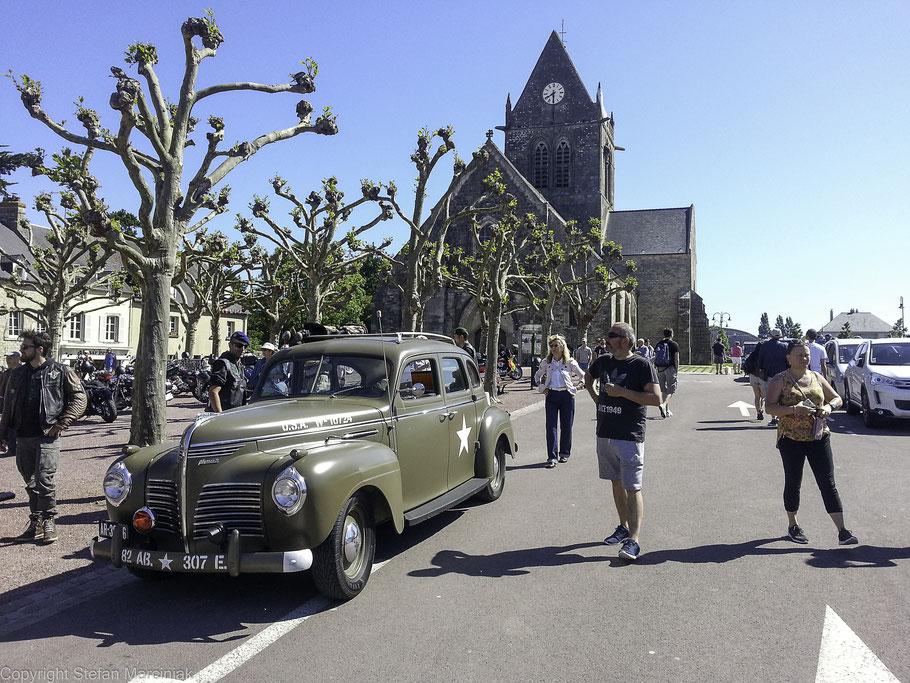 Bild: D-Day Feierlichkeiten in Sainte-Mère-Église, Normandie