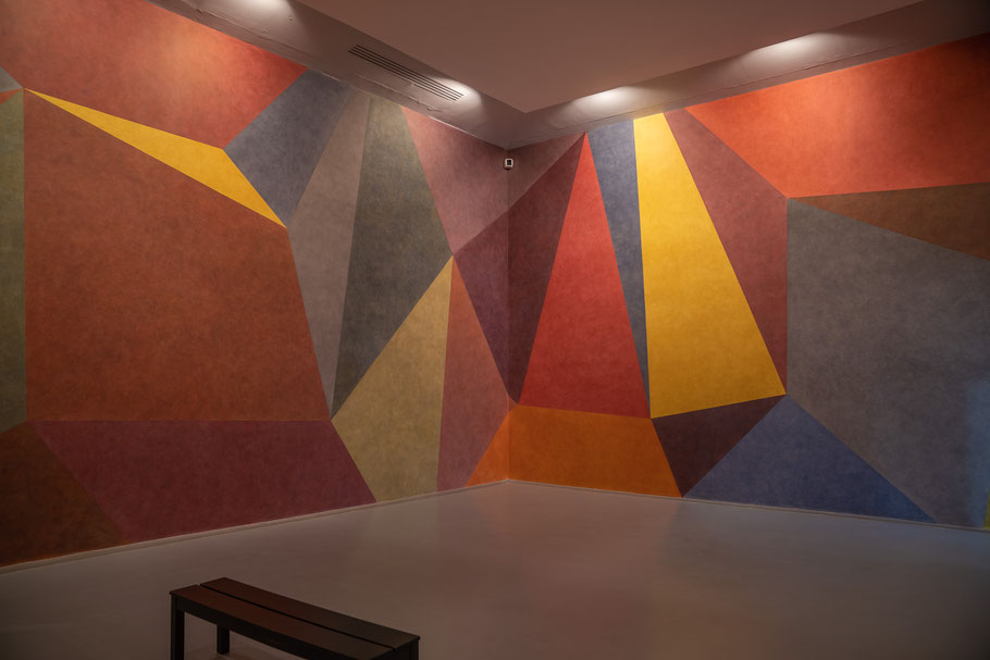 Bild: Collection Lambert in Avignon, hier Werk von Sol LeWitt