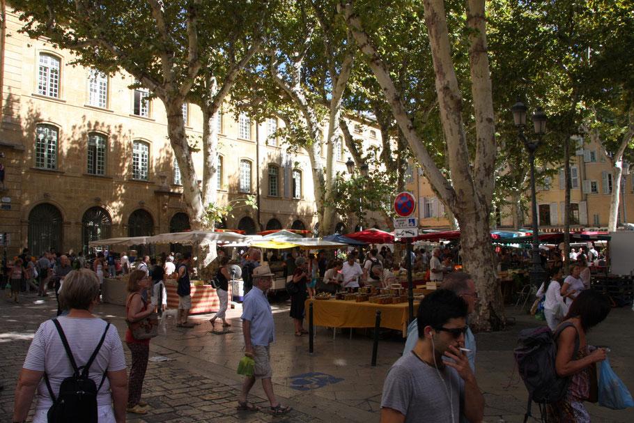 Bild: Place Richelme in Aix-en-Provence